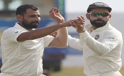 First Test: Shami's twin strikes give India upper hand vs Sri Lanka