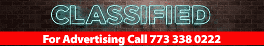 Advertise with us 773.338.0222 | Classifieds
